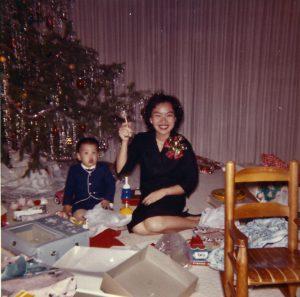 Chinese-American Christmas tree